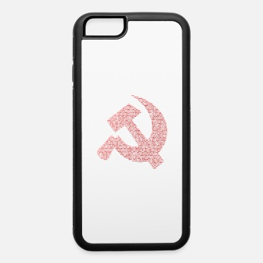 Sickle Hammer and sickle . - iPhone 6/6s Rubber Case
