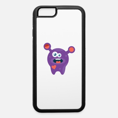 Soccer Funny Monster - iPhone 6/6s Rubber Case