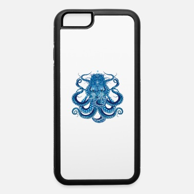 Decoration Octopus with corals, shells and sea anemones - iPhone 6 Case