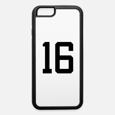 number 16 - iPhone 6 Case