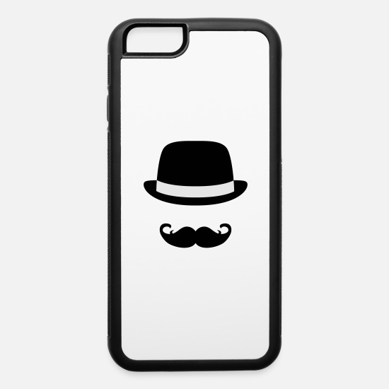 Hipster iPhone Cases - Sir - iPhone 6 Case white/black