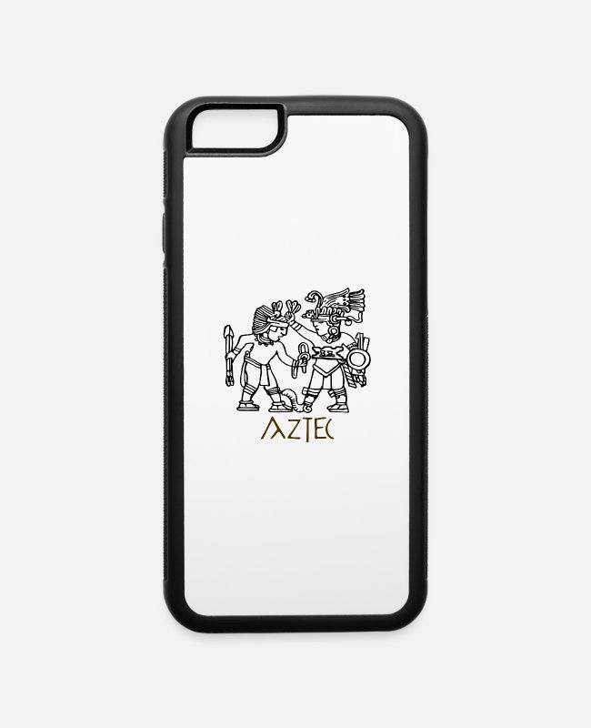 Greece iPhone Cases - Aztec - iPhone 6 Case white/black