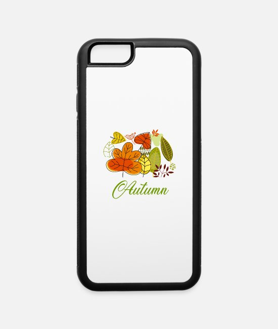 Brown iPhone Cases - Autumn - iPhone 6 Case white/black