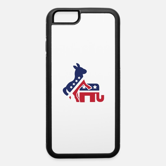 Politics iPhone Cases - Democrats on top - iPhone 6 Case white/black