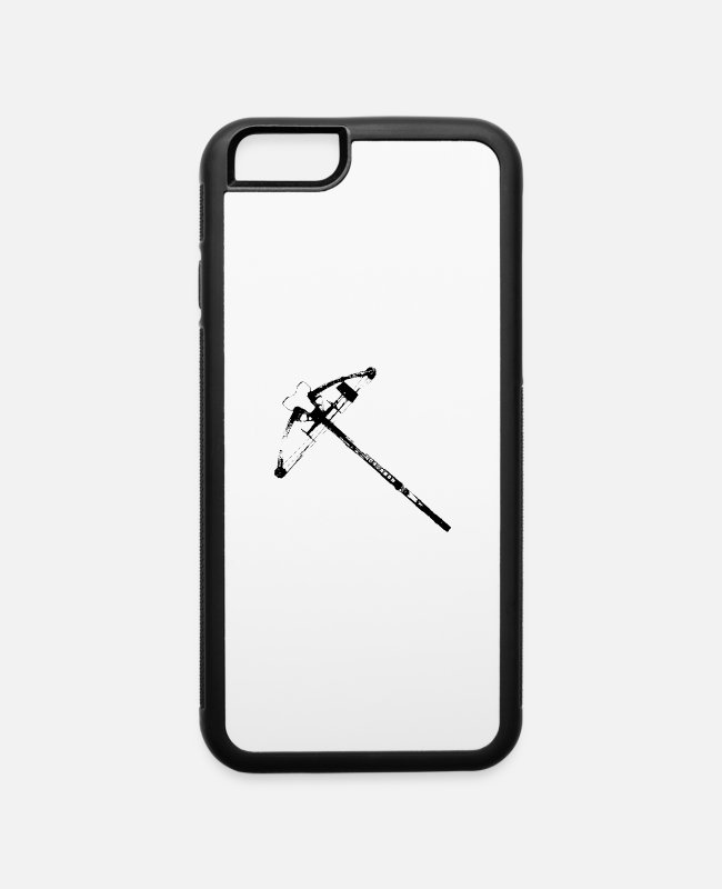 Walking iPhone Cases - Daryls Crossbow - iPhone 6 Case white/black