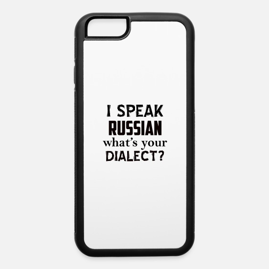 Russian iPhone Cases - RUSSIAN - iPhone 6 Case white/black