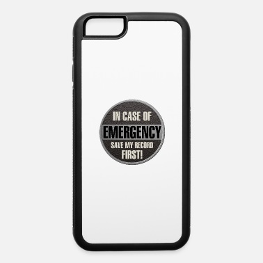 case record - iPhone 6/6s Rubber Case