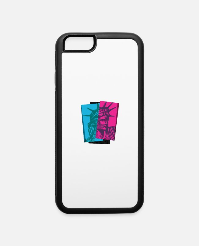Art iPhone Cases - Liberty - iPhone 6 Case white/black