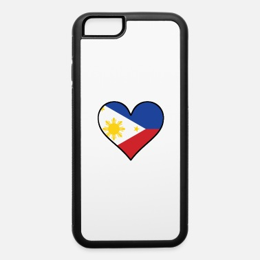 Filipino Flag Filipino Flag Heart - iPhone 6 Case