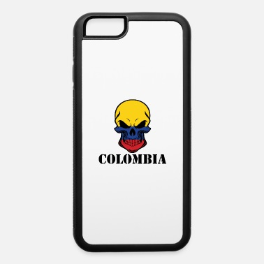 Colombia Roots Colombian Flag Skull Colombia - iPhone 6 Case