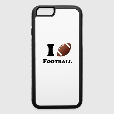I Heart Football - iPhone 6/6s Rubber Case