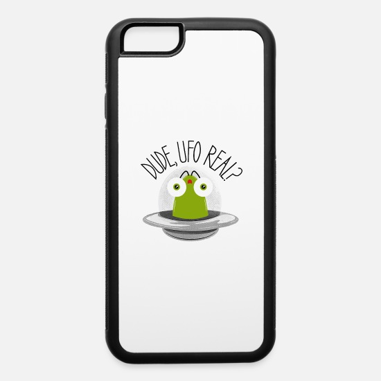 Game iPhone Cases - UFO Real - iPhone 6 Case white/black
