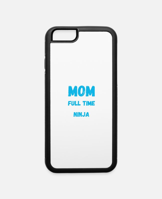 Happy Mother Day iPhone Cases - Accountant Mom Only Because Full Time Multitasking - iPhone 6 Case white/black