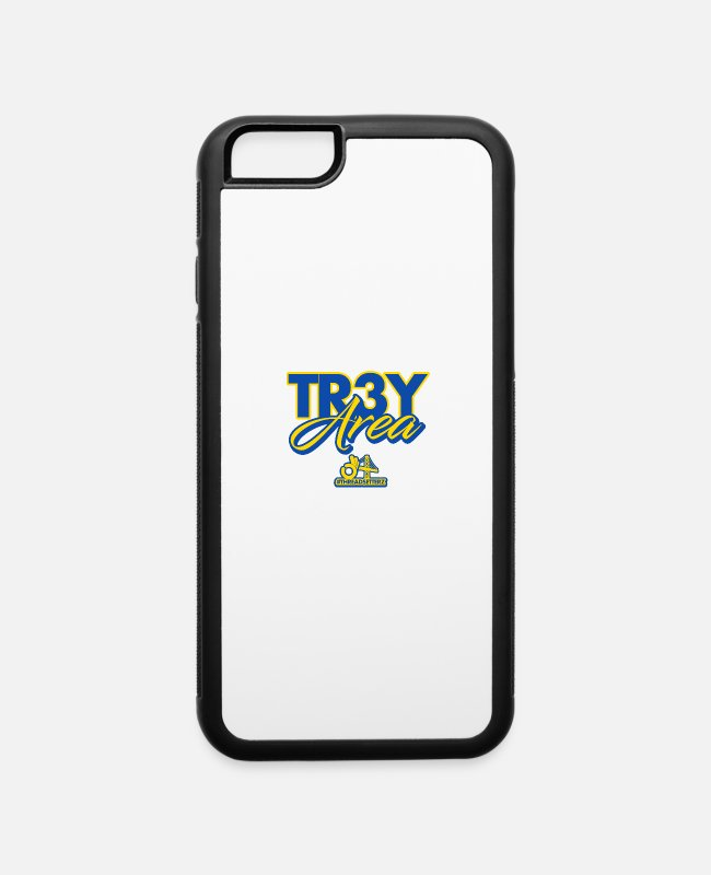 San Francisco iPhone Cases - Trey Area - iPhone 6 Case white/black