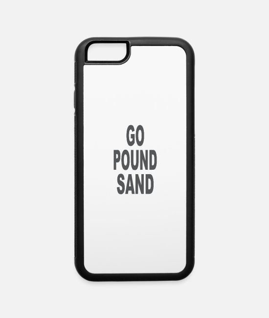 Heart iPhone Cases - Go Pound Sang - iPhone 6 Case white/black