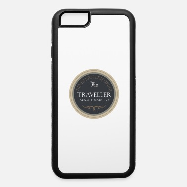 Travel The Traveller! - iPhone 6/6s Rubber Case