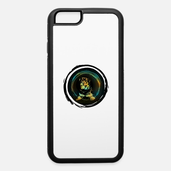 Rottweiler iPhone Cases - Rottweiler - iPhone 6 Case white/black