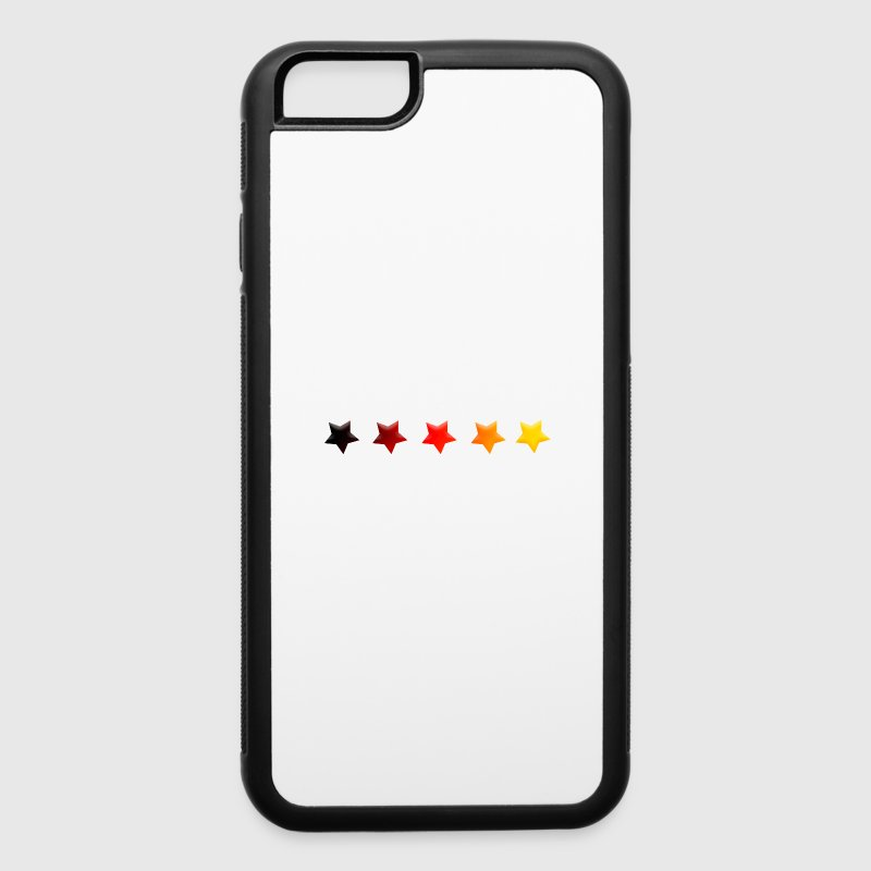 Stars German Germany World Cup Soccer 5 Five - iPhone 6/6s Plus Rubber Case