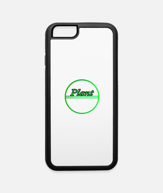 Garden iPhone Cases - Plant - iPhone 6 Case white/black