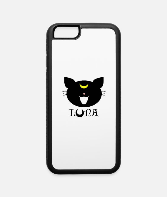Moon Landing iPhone Cases - Luna - Sailor Moon - iPhone 6 Case white/black