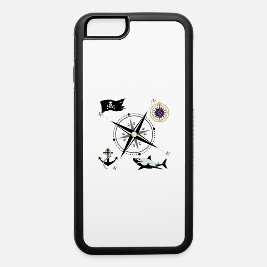 Nautical iPhone Cases - Nautical Designs - iPhone 6 Case white/black
