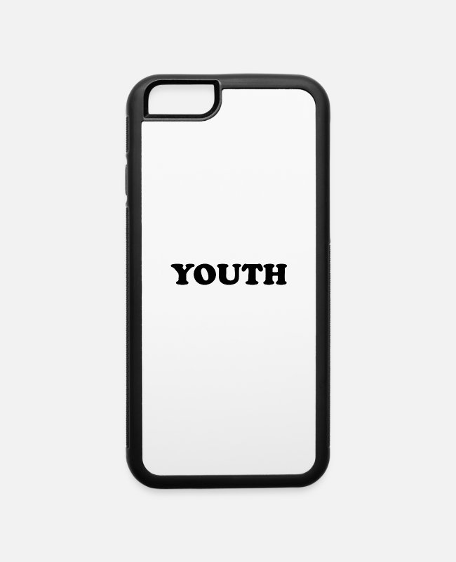 Write iPhone Cases - YOUTH - iPhone 6 Case white/black