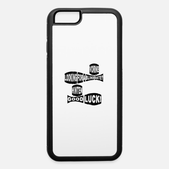 Date iPhone Cases - Blind date - iPhone 6 Case white/black