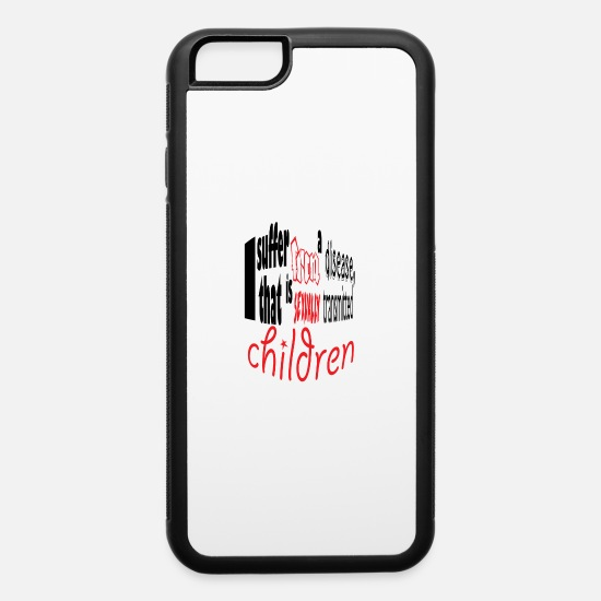 Birthday iPhone Cases - children - iPhone 6 Case white/black