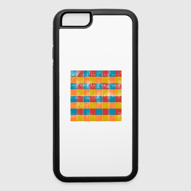 Square squares - iPhone 6/6s Rubber Case