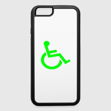 wheelchair - iPhone 6/6s Rubber Case
