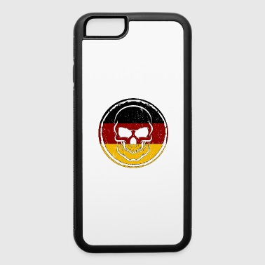 Germany Soccer Football Skull Gift idea - iPhone 6/6s Rubber Case