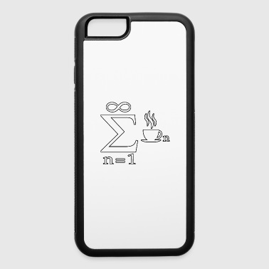 Mathematic joke Infinity Coffee Science - iPhone 6/6s Rubber Case
