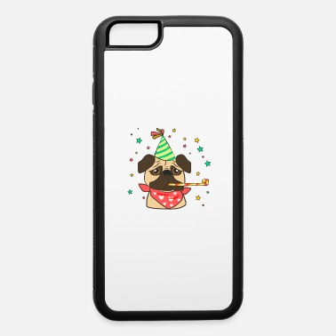Birthday Party Classic pug with birthday accesories - iPhone 6 Case