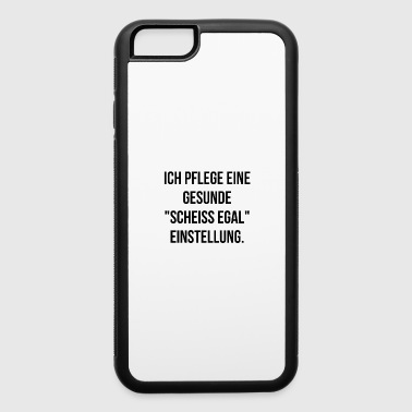 scheissegal saying unimportant no matter funny fuc - iPhone 6/6s Rubber Case