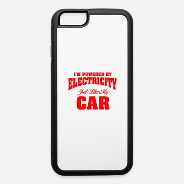 Electricity electric car - iPhone 6/6s Rubber Case