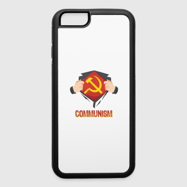 Communism Superhero Hammer Sickle Red USSR - Gift - iPhone 6/6s Rubber Case