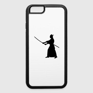Samurai Japan Katana Fighter Warrior - iPhone 6/6s Rubber Case