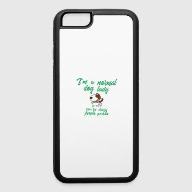 i m a normal dog lady 01 - iPhone 6/6s Rubber Case