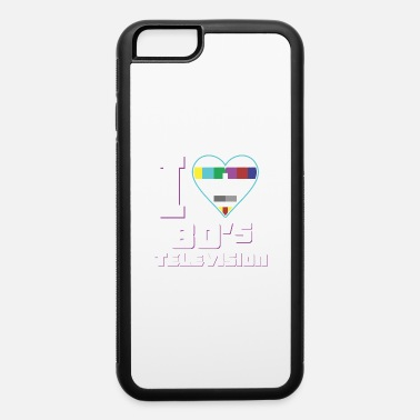 I love 80s television heart shirt for 80s lovers - iPhone 6 Case