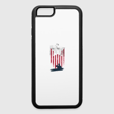 American flag - iPhone 6/6s Rubber Case