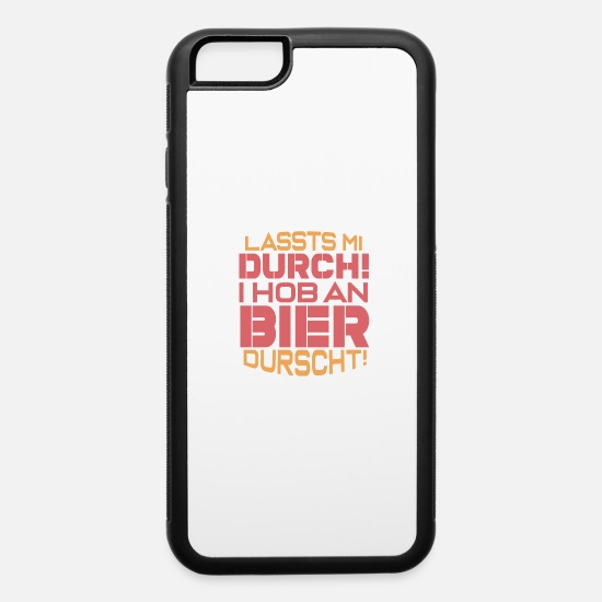 Gift Idea iPhone Cases - Bavarian Quote - iPhone 6 Case white/black