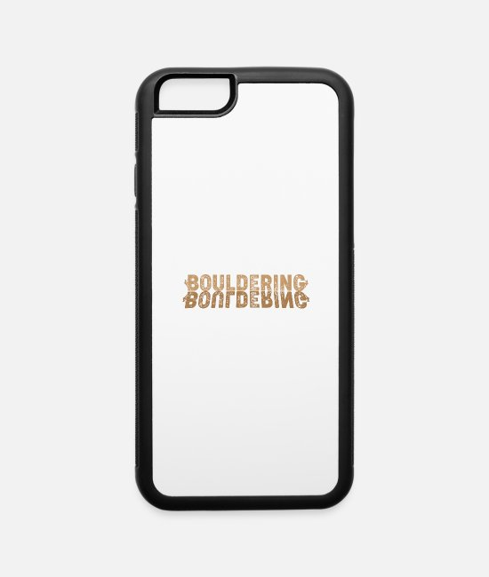 Sport Climbing iPhone Cases - Bouldering - iPhone 6 Case white/black
