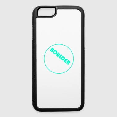Alps Boulder Boulderer climb climbing mountain - iPhone 6/6s Rubber Case