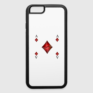 Ace Of Spades ACE OF DIAMONDS - iPhone 6/6s Rubber Case