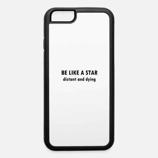 Humor iPhone Cases - sarcastic dark humor dying the sarcasm gift idea - iPhone 6 Case white/black