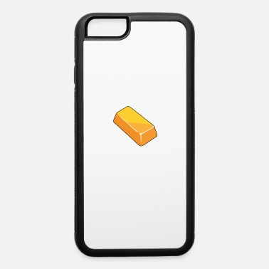 Bullions Gold bar design precious metal plant gift - iPhone 6 Case