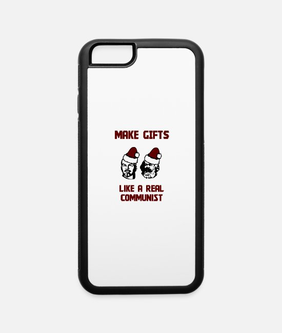 Social iPhone Cases - Make Gifts - Like A Real Communist - iPhone 6 Case white/black