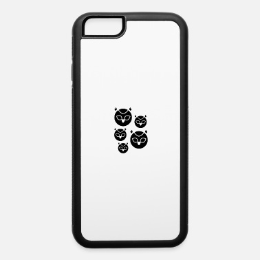 Owl Owl Monsters Design - iPhone 6/6s Rubber Case