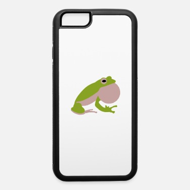Greenman Green bubble frog - iPhone 6 Case