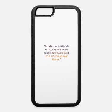 Moon beautiful religious islam design - iPhone 6/6s Rubber Case